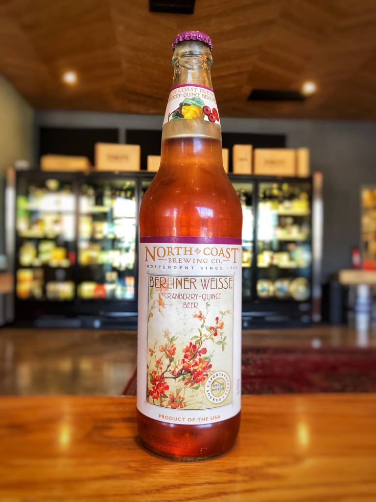 North Coast Brewing Co. Cranberry Quince Berlinner Weisse 750ml