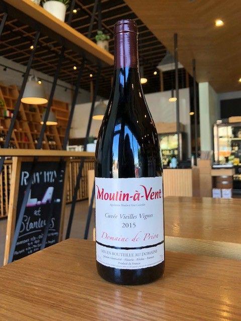 """2015 Domaine de Prion Moulin-a-Vent """"Cuvee Vielles Vignes"""" 750ml"""