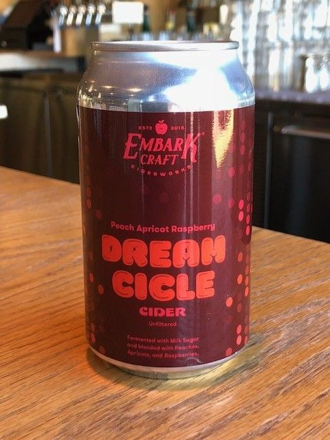 Embark Craft Ciderworks Embark Dreamsicles Peach Apricot Raspberry 12oz