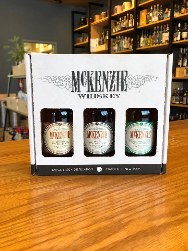 McKenzie Whiskey 3 Pack Sampler 200ml