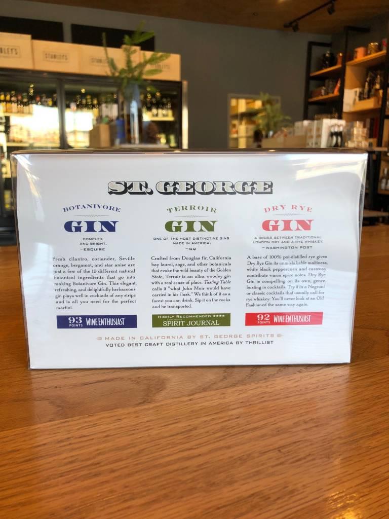 St. George Gin 3 pack  200 ml