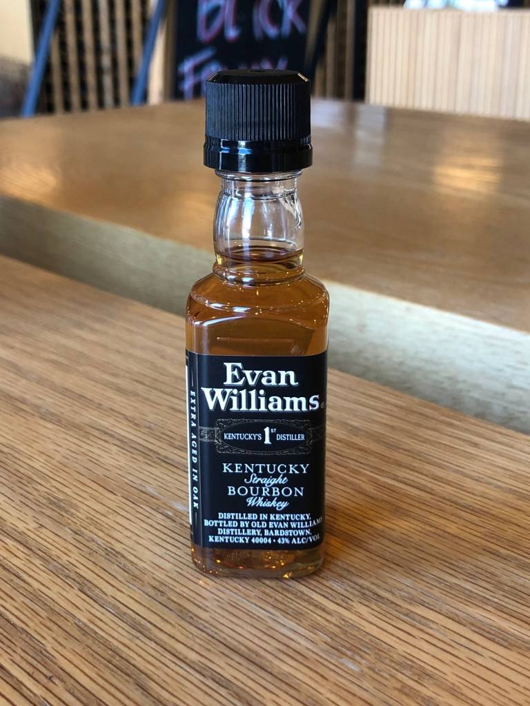 Evan Williams Bourbon 50ml