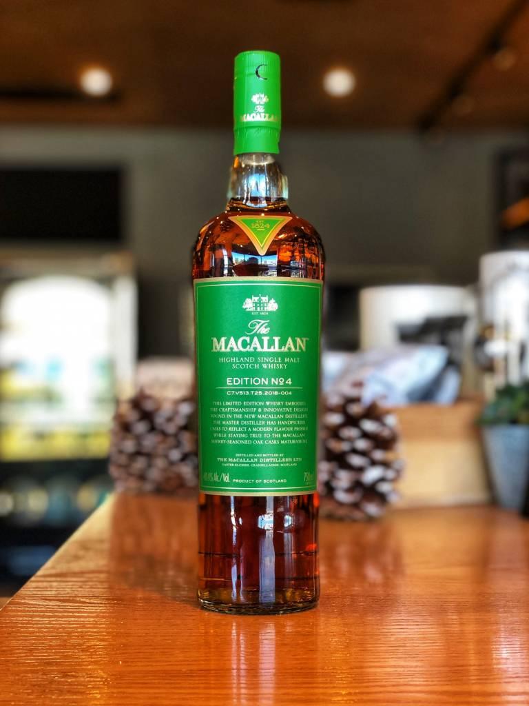 The Macallan Distillers Macallan Edition No. 4 Single Malt Scotch 750ml