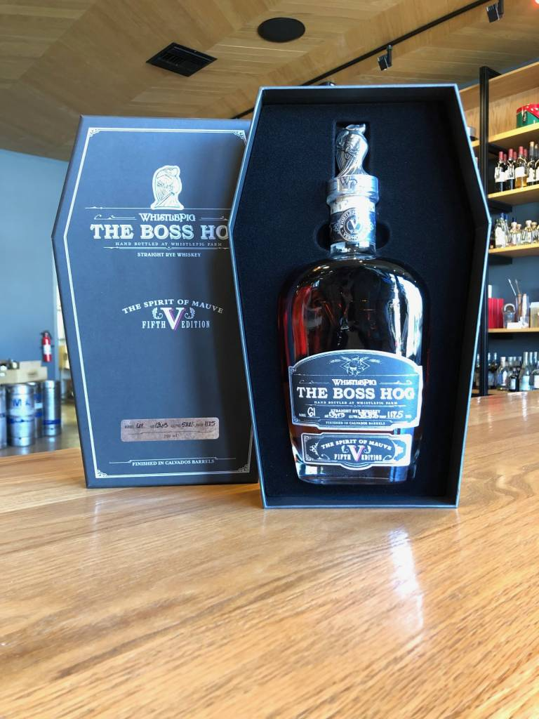 "WhistlePig Distillery Whistle Pig Boss Hog Rye ""The Spirit of Mauve"" 750ml"