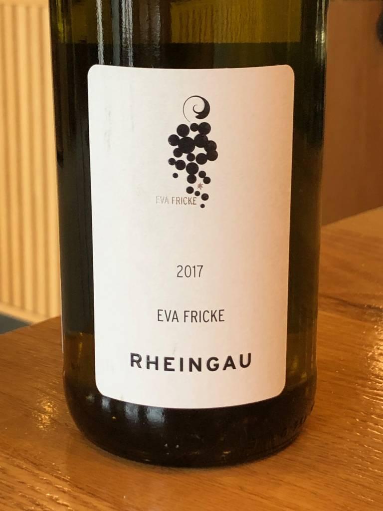 Eva Fricke 2017 Eva Fricke Rheingau Riesling QbA Trocken 750ml