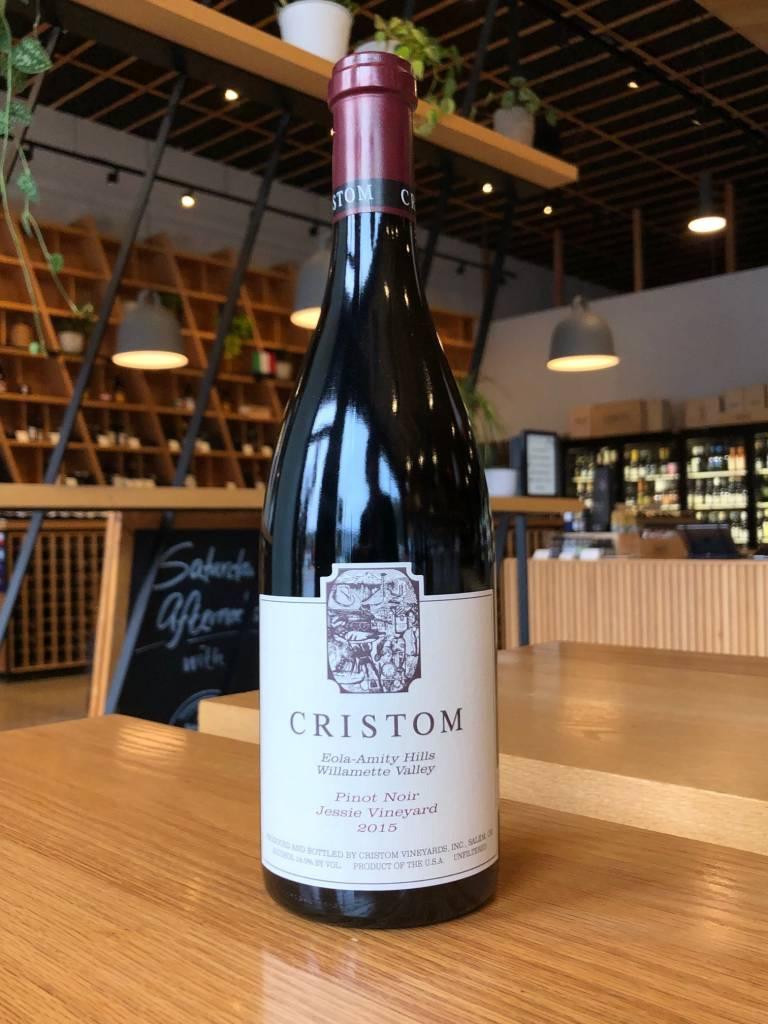 Cristom 2015 Cristom Pinot Noir Jessie Vineyard Eola-Amity Hills 750ml