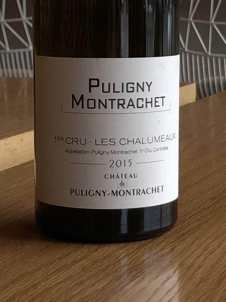 Château de Puligny-Montrachet 2015 Château du Puligny-Montrachet Puligny-Montrachet Les Chalumeaux 750mL