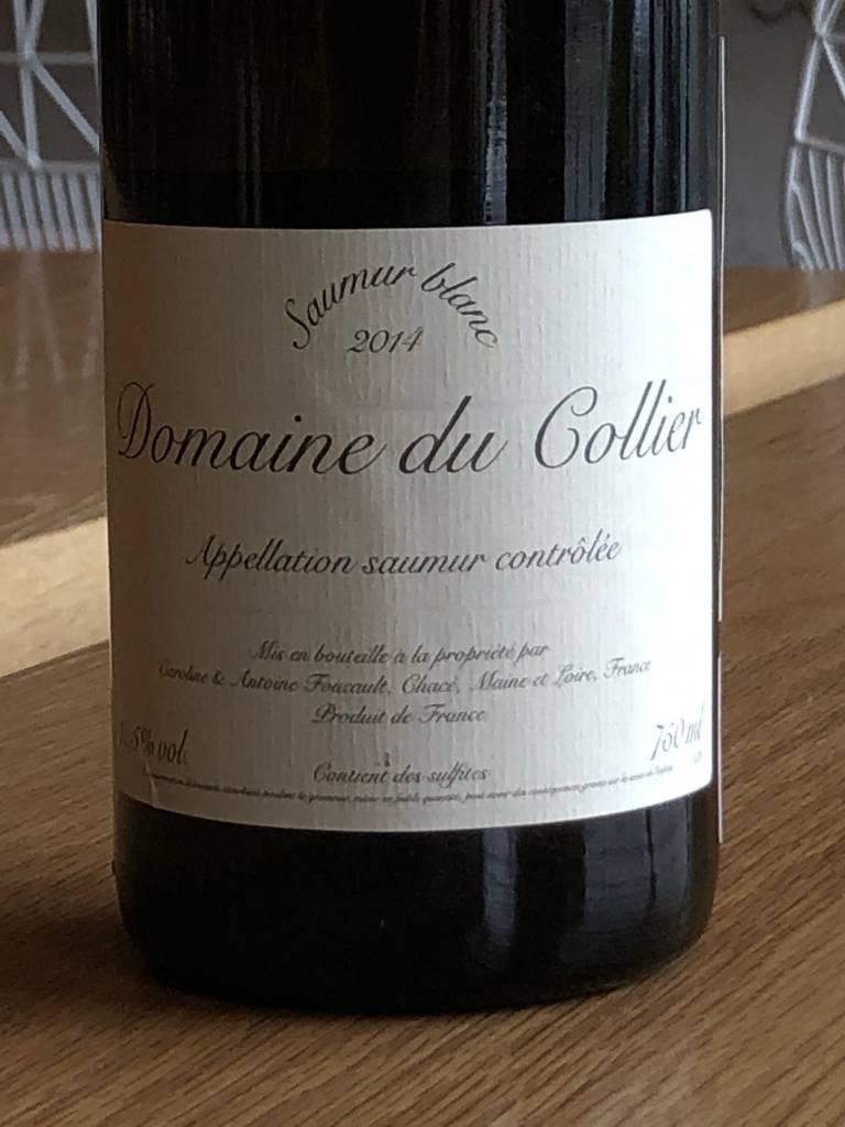 Domaine du Collier 2014 Domaine du Collier Saumur Blanc 750ml
