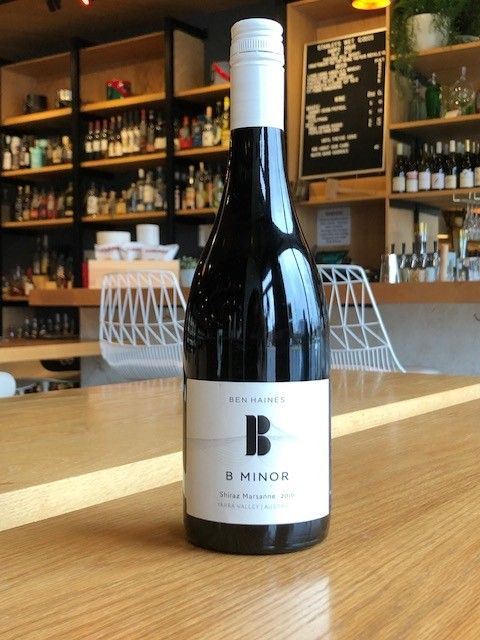 B Minor 2016 B Minor Shiraz Marsanne Yarra Valley 750ml