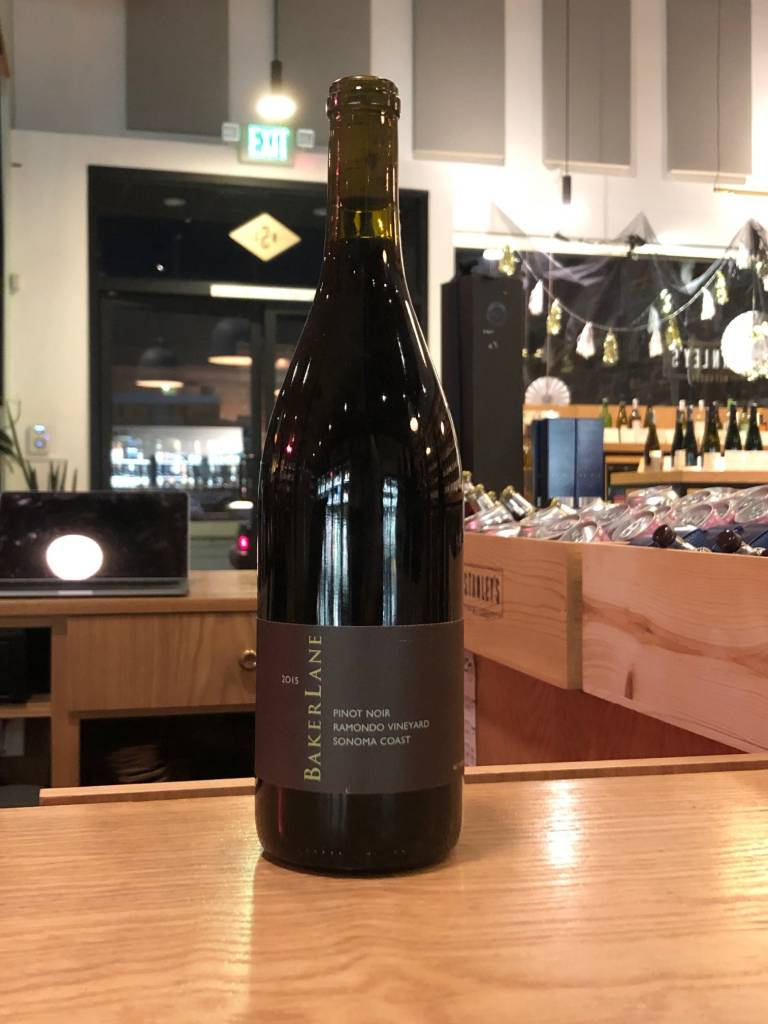 Baker Lane 2015 Baker Lane Pinot Noir Ramondo Vineyard, Sonoma Coast 750ml
