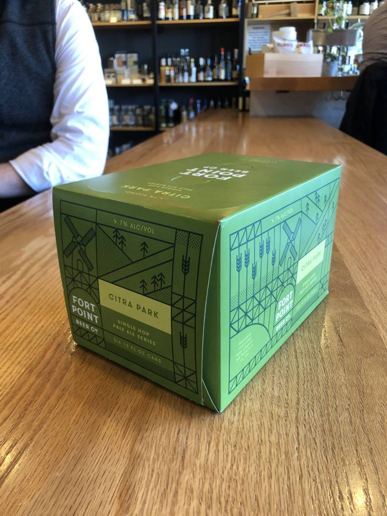 Fort Point Beer Company Fort Point Citra Park Pale Ale 12oz 6pk