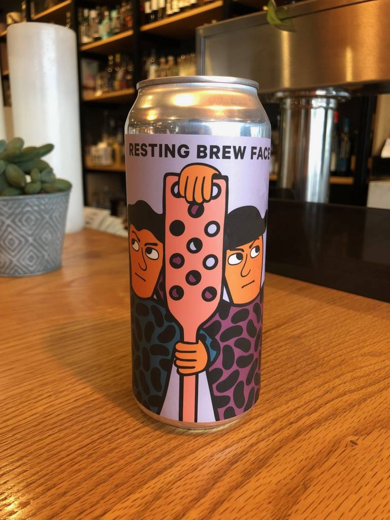Mikkeller Brewing Mikkeller SD Resting Brew Face New England Imperial IPA 16oz
