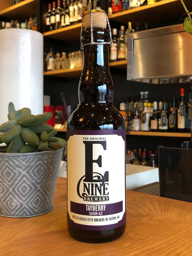 E9 Brewing E9 Brewing Tayberry Farmhouse 375ml