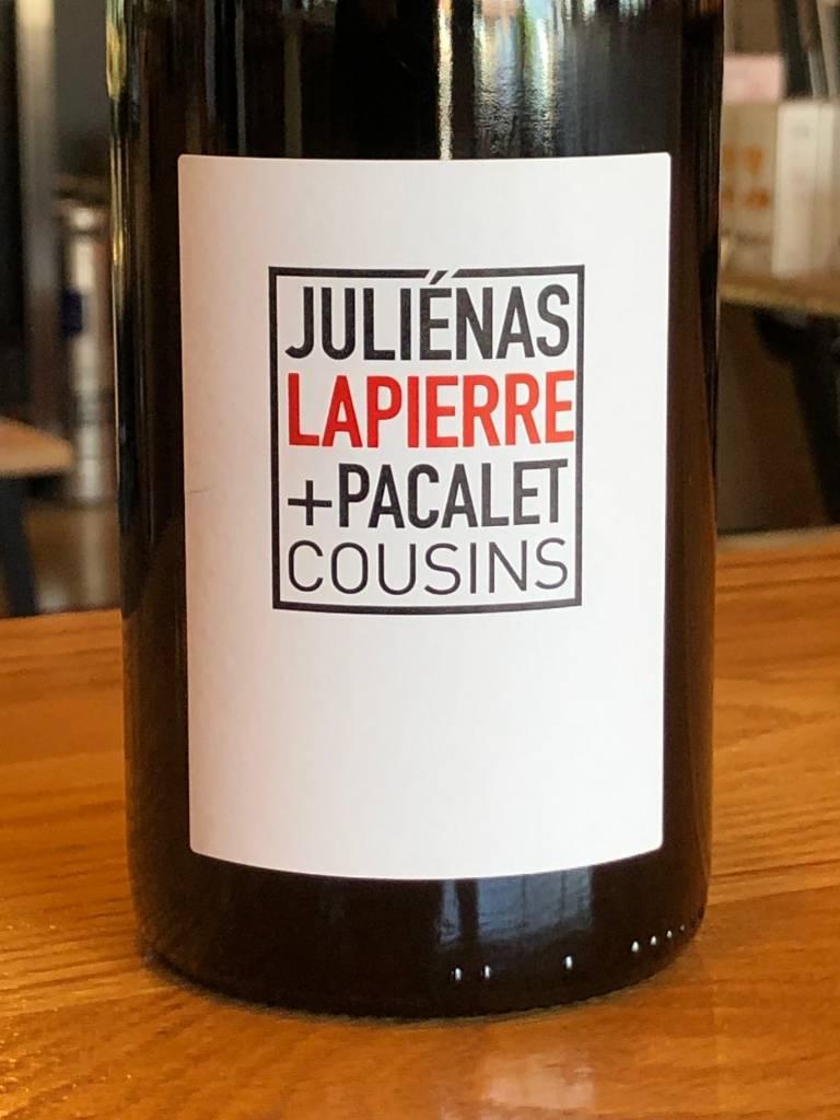 """Lapierre 2017 Lapierre / Pacalet Juliénas """"Cousins"""" 750ml"""