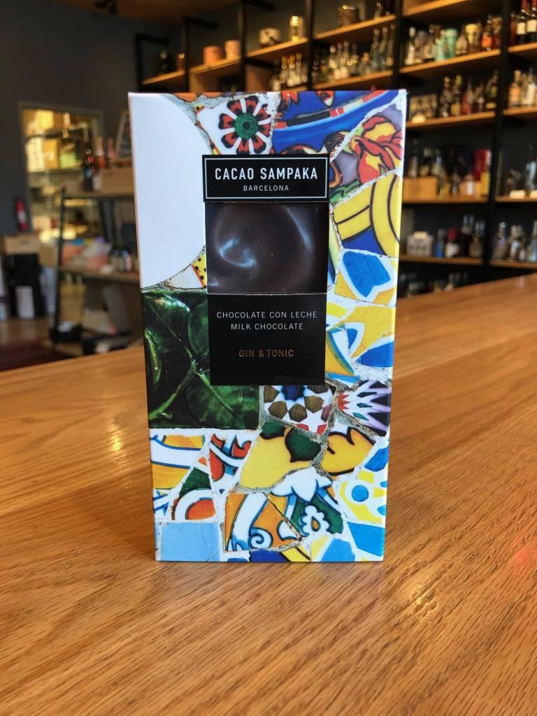Cacao Sampaka Cacao Sampaka Gin + Tonic 40% Chocolate Bar 75g