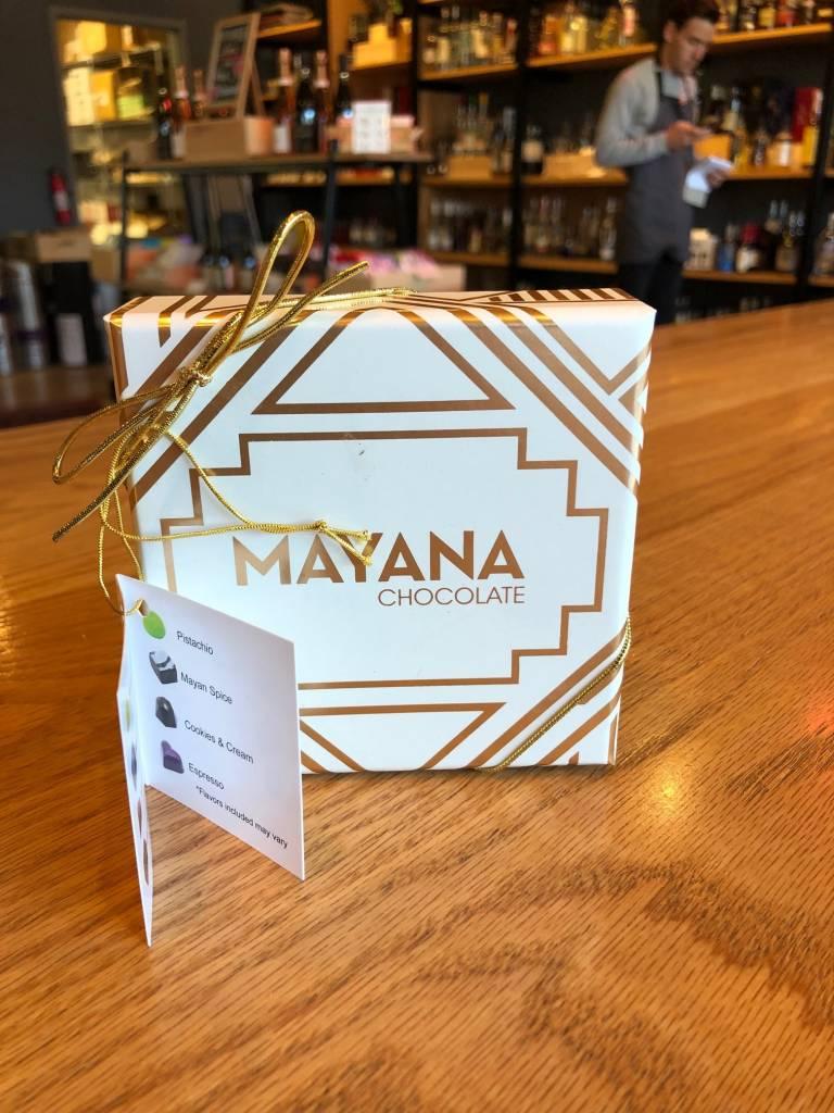 Mayana Chocolates 4 Piece Signature Box