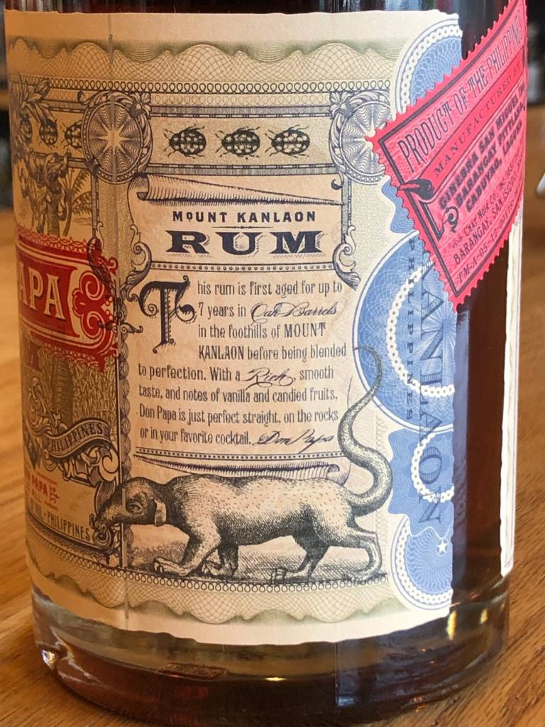 Don Papa Don Papa Philippino Rum 750ml