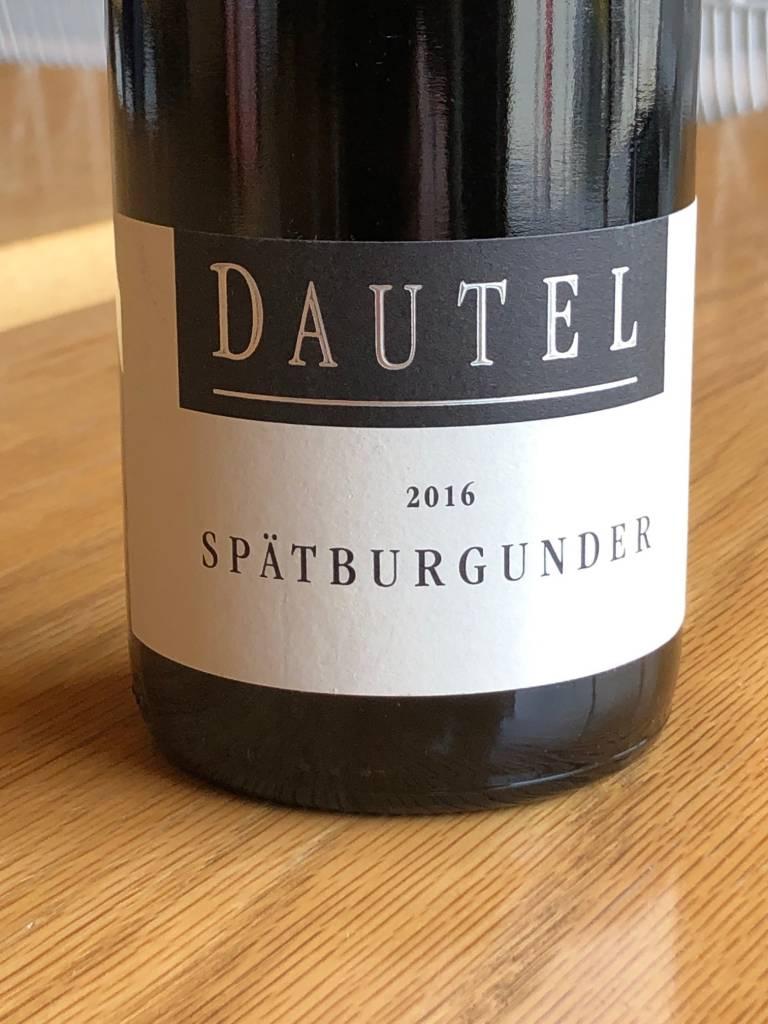 Dautel 2016 Dautel Spätburgunder (Pinot Noir) 750ml