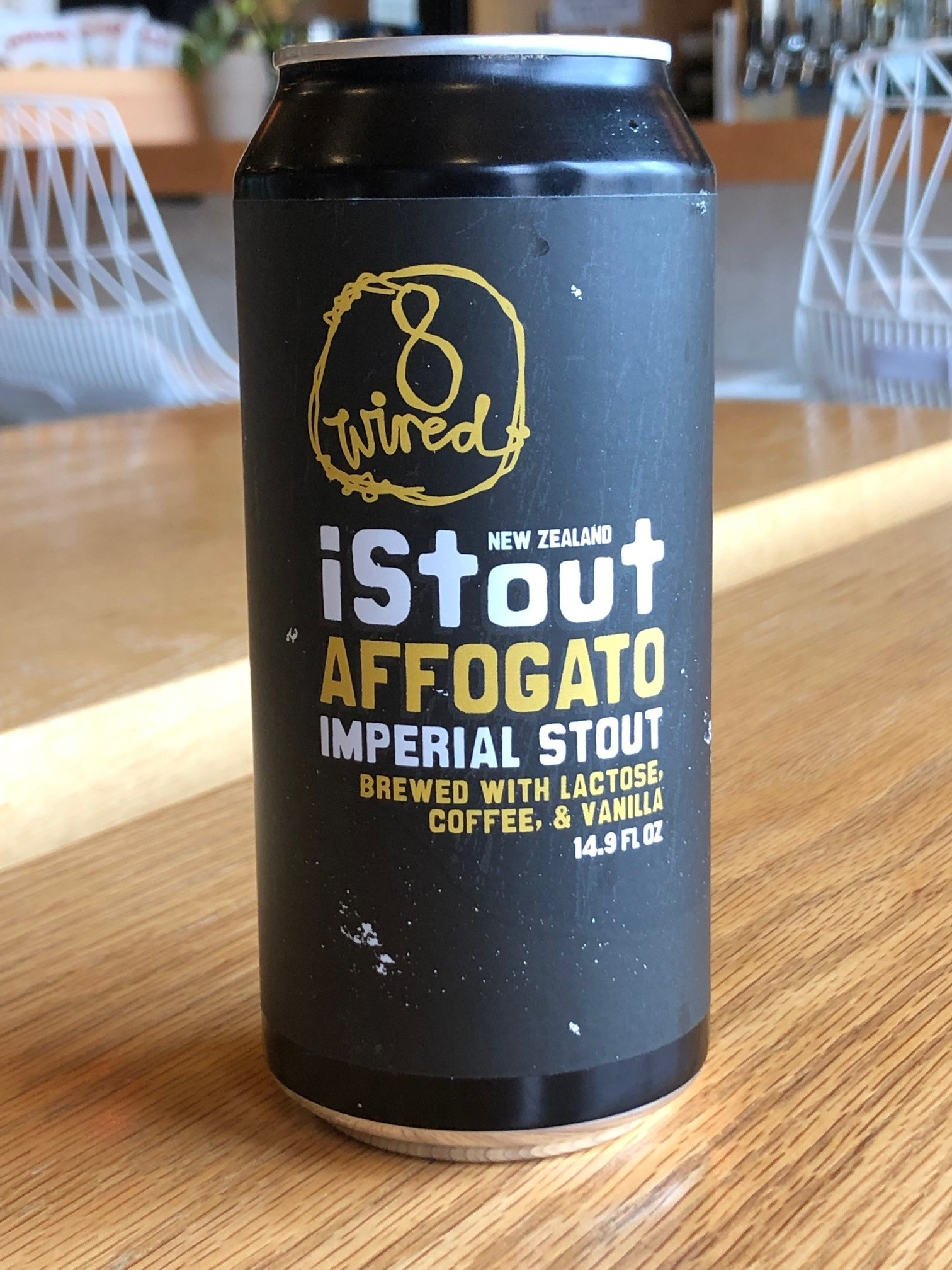 8 Wired Brewing 8 Wired Affogato Stout 440ml