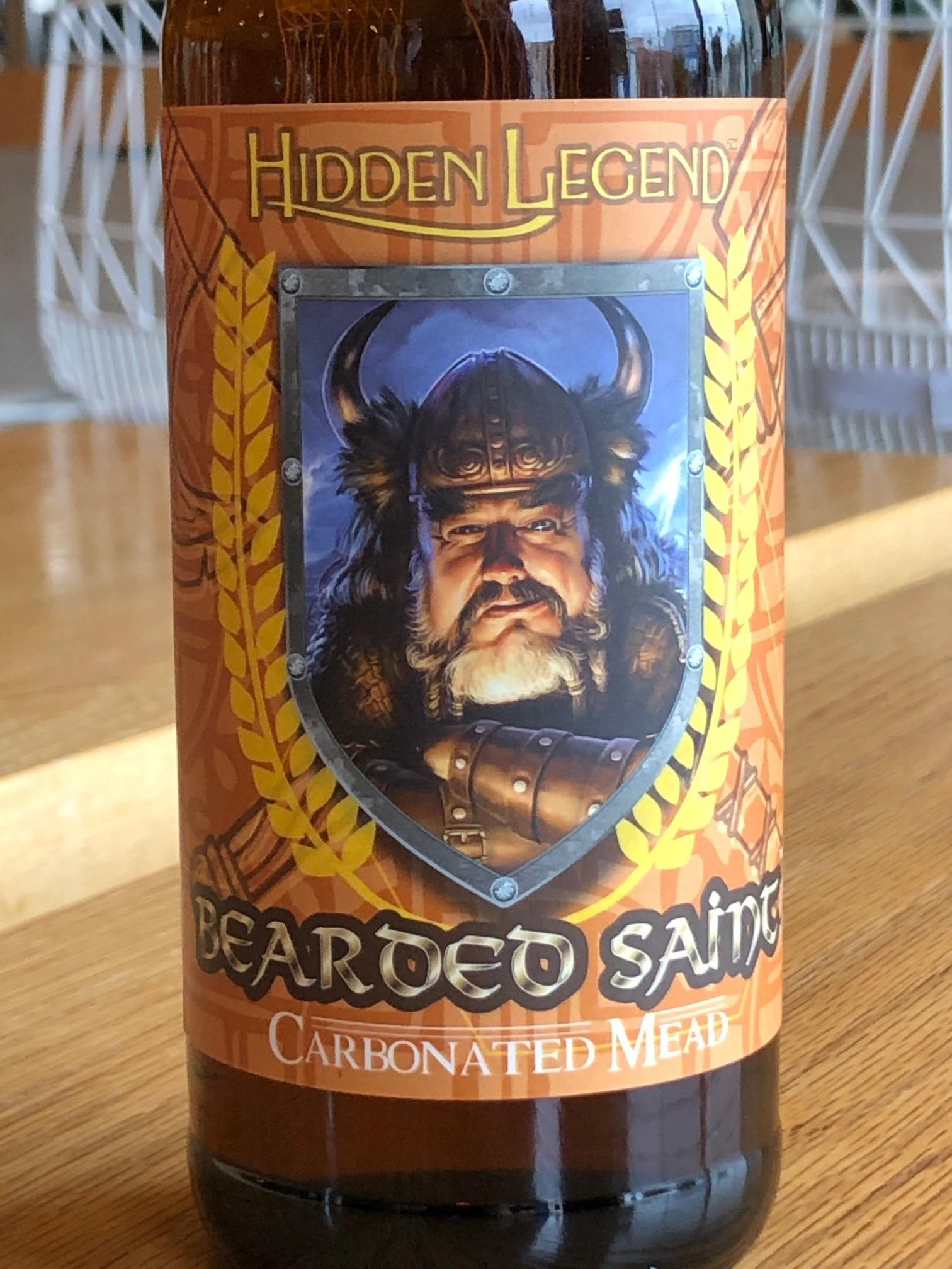 Hidden Legend Meads Hidden Legend Bearded Saint 500ml