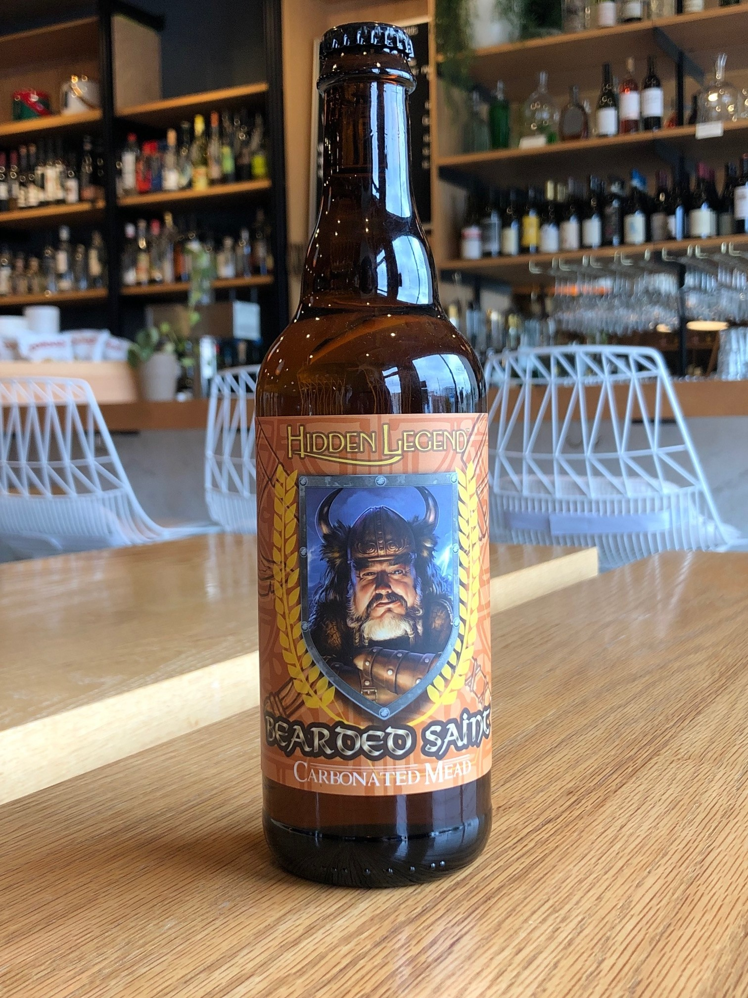 Hidden Legend Meads Hidden Legend 'Bearded Saint' Apple Mead 500ml