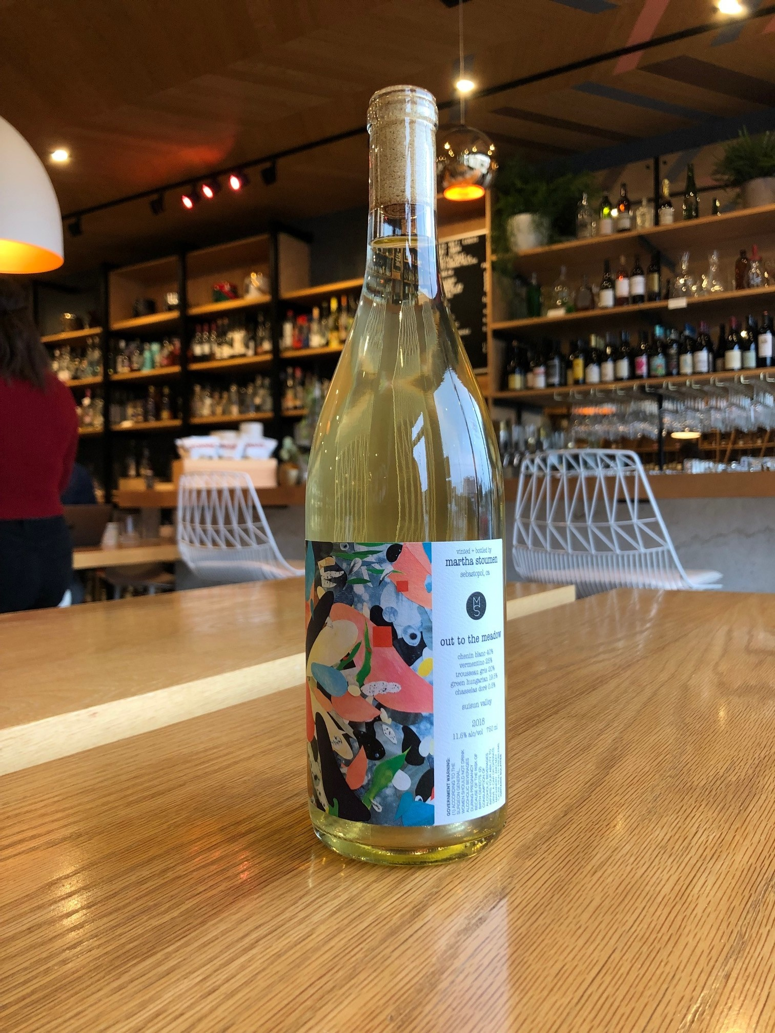 Martha Stoumen 2018 Martha Stoumen Out of the Meadow White 750ml