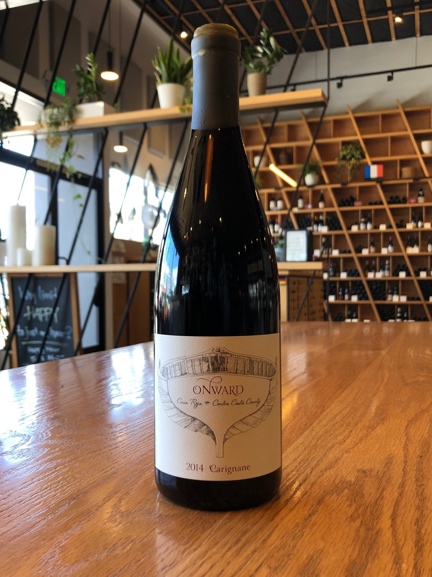 Onward Wines 2014 Onward Carignane Casa Roja Vineyard, Contra Costa County 750mL