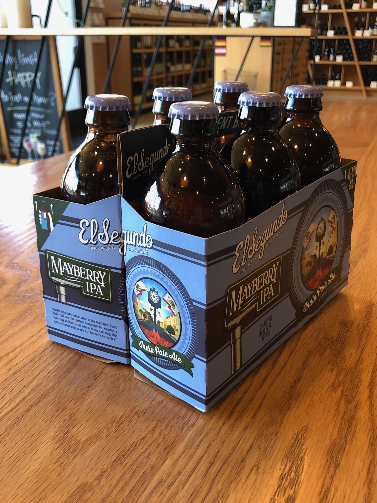 El Segundo Brewing Company El Segundo Brewing Co. Mayberry IPA 6 pack