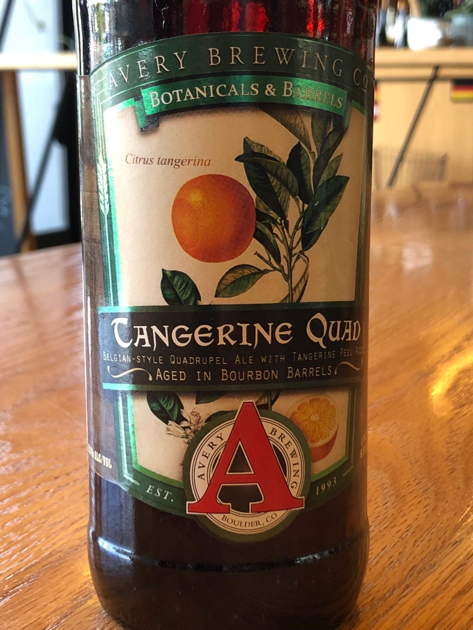 Avery Brewing Co. Avery Brewing Tangerine Quad 22oz