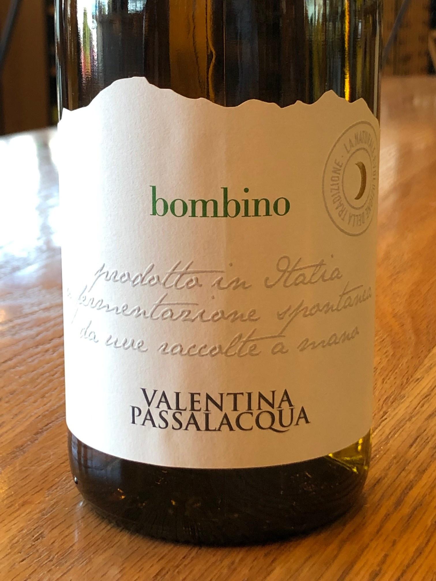 2016 Valentina Passalacqua Bombino 750ml