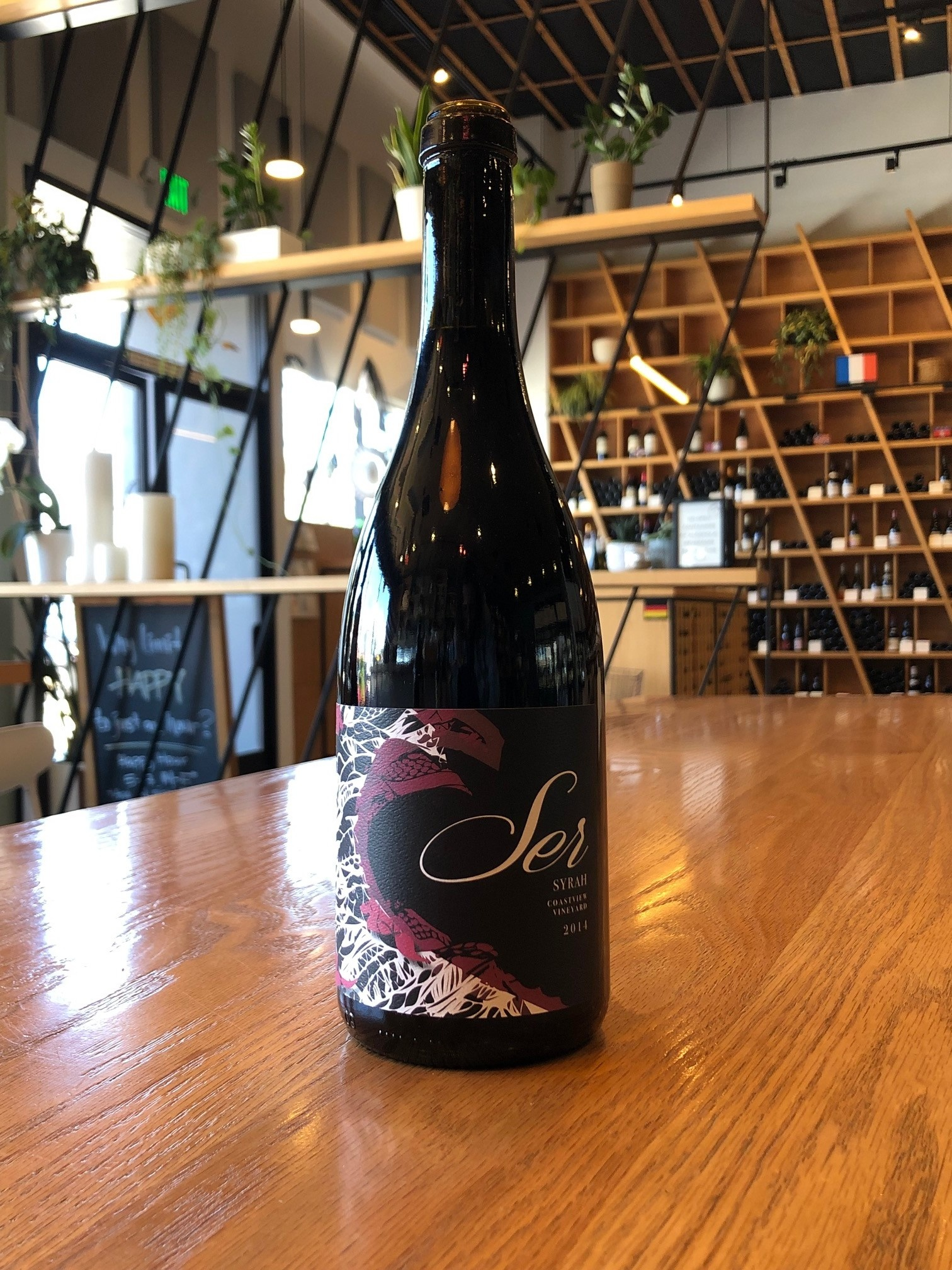 Ser 2014 Ser Coastview Vineyard Syrah 750ml