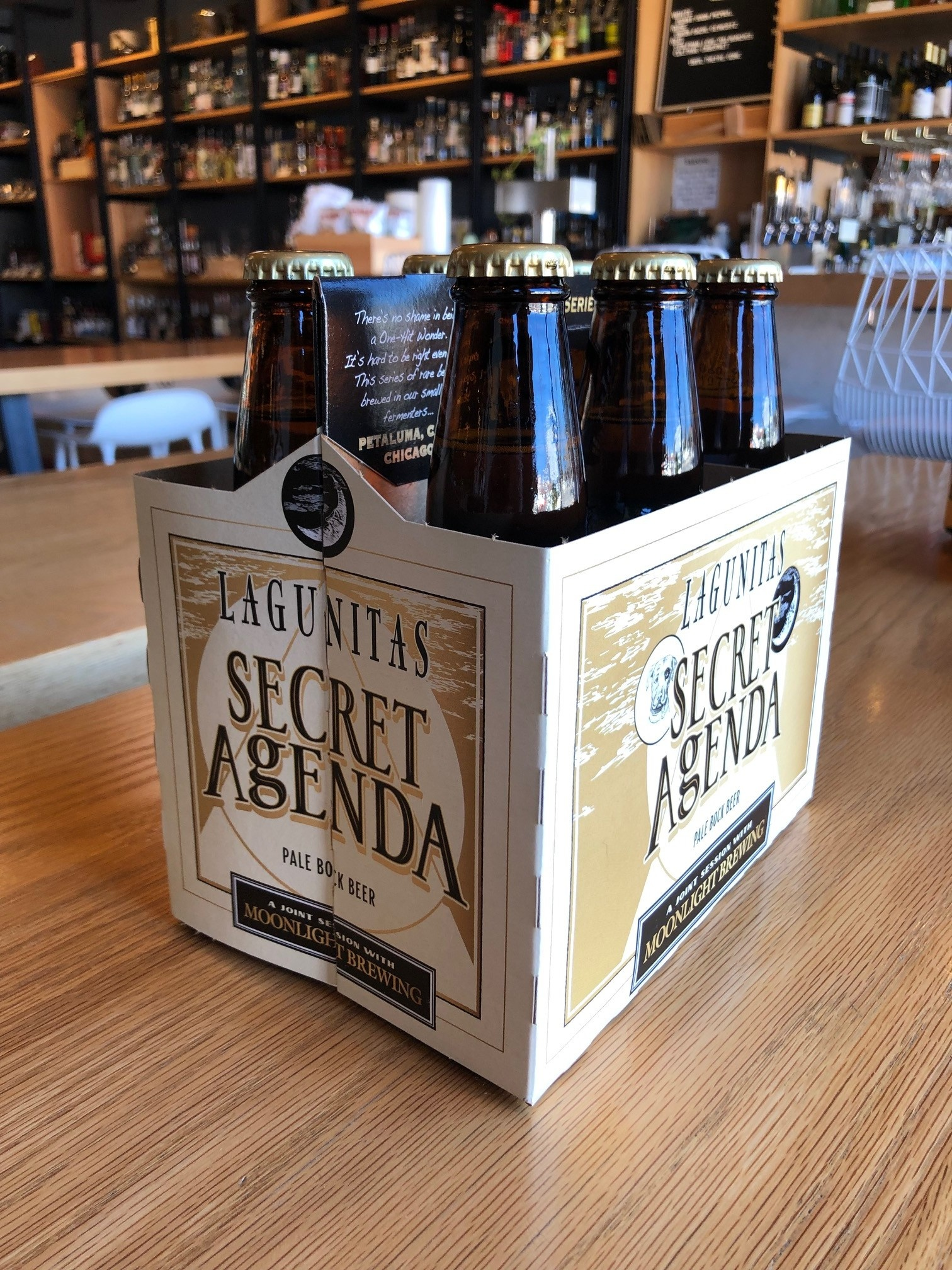 Lagunitas Brewing Lagunitas Secret Agenda Pale Bock 12oz 6pk