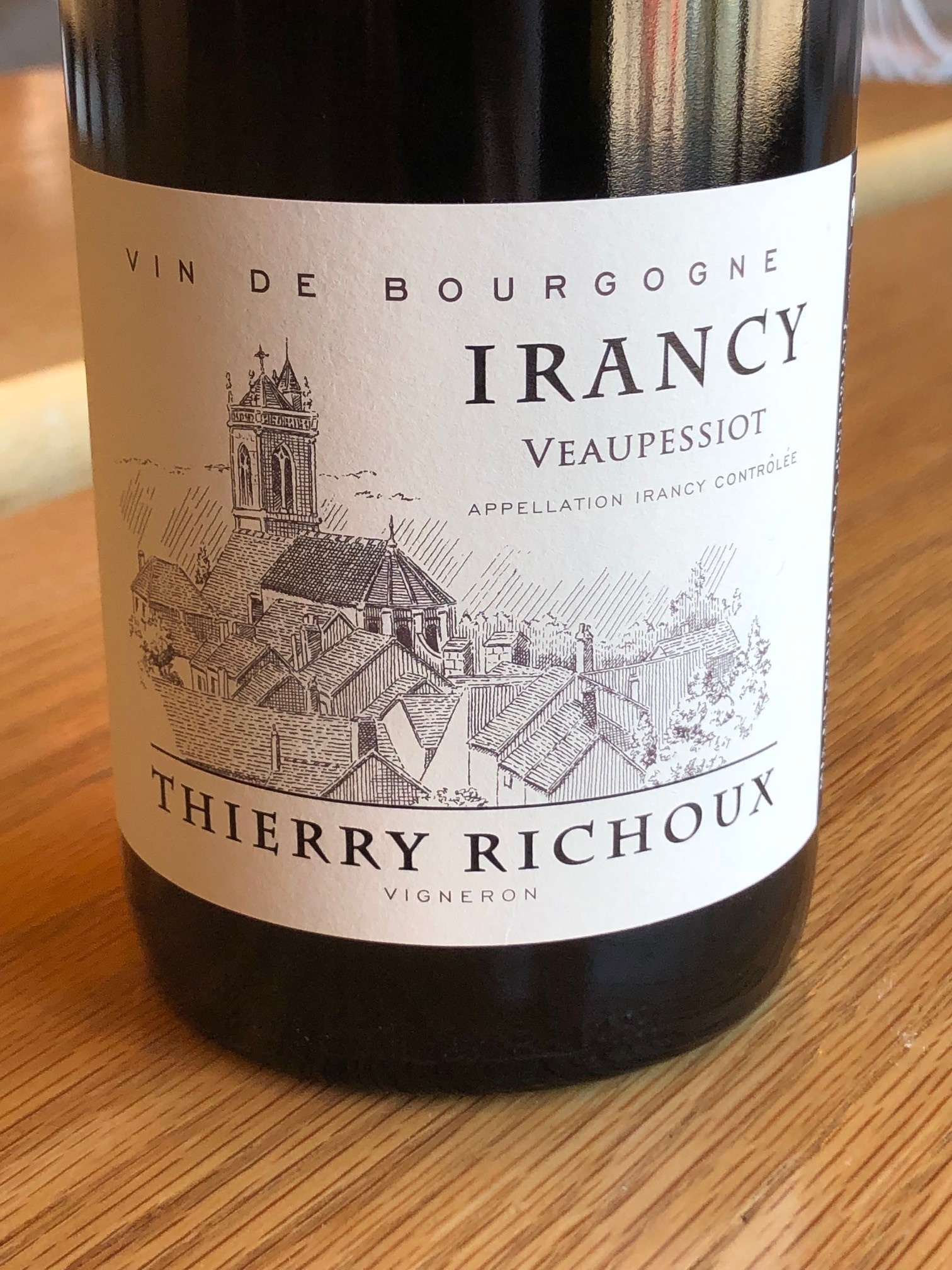 Thierry Richoux 2013 Thierry Richoux Irancy 'Veaupessiot' 750ml