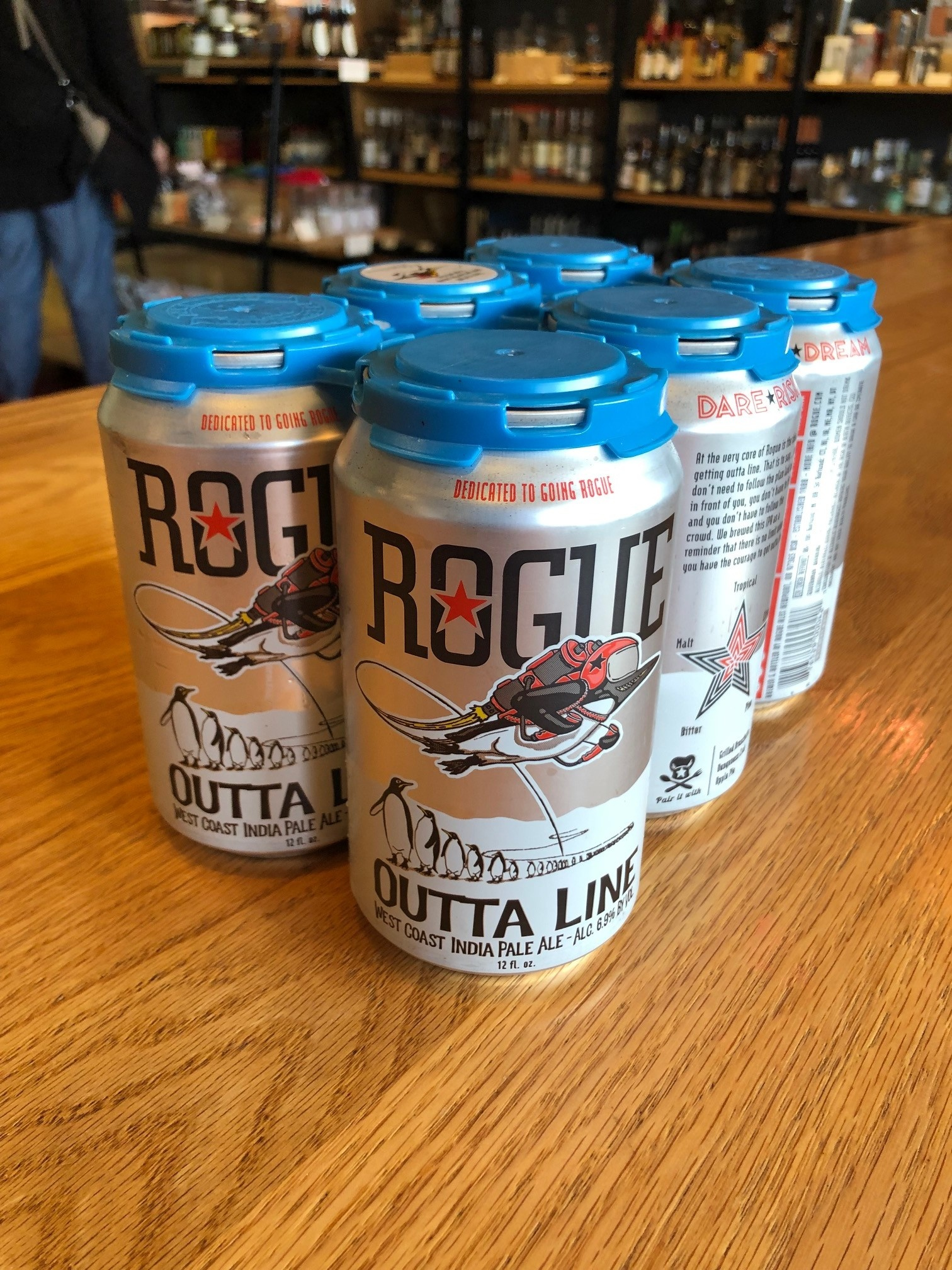 Rogue Brewing Outta Line West Coast IPA 12oz 6pack