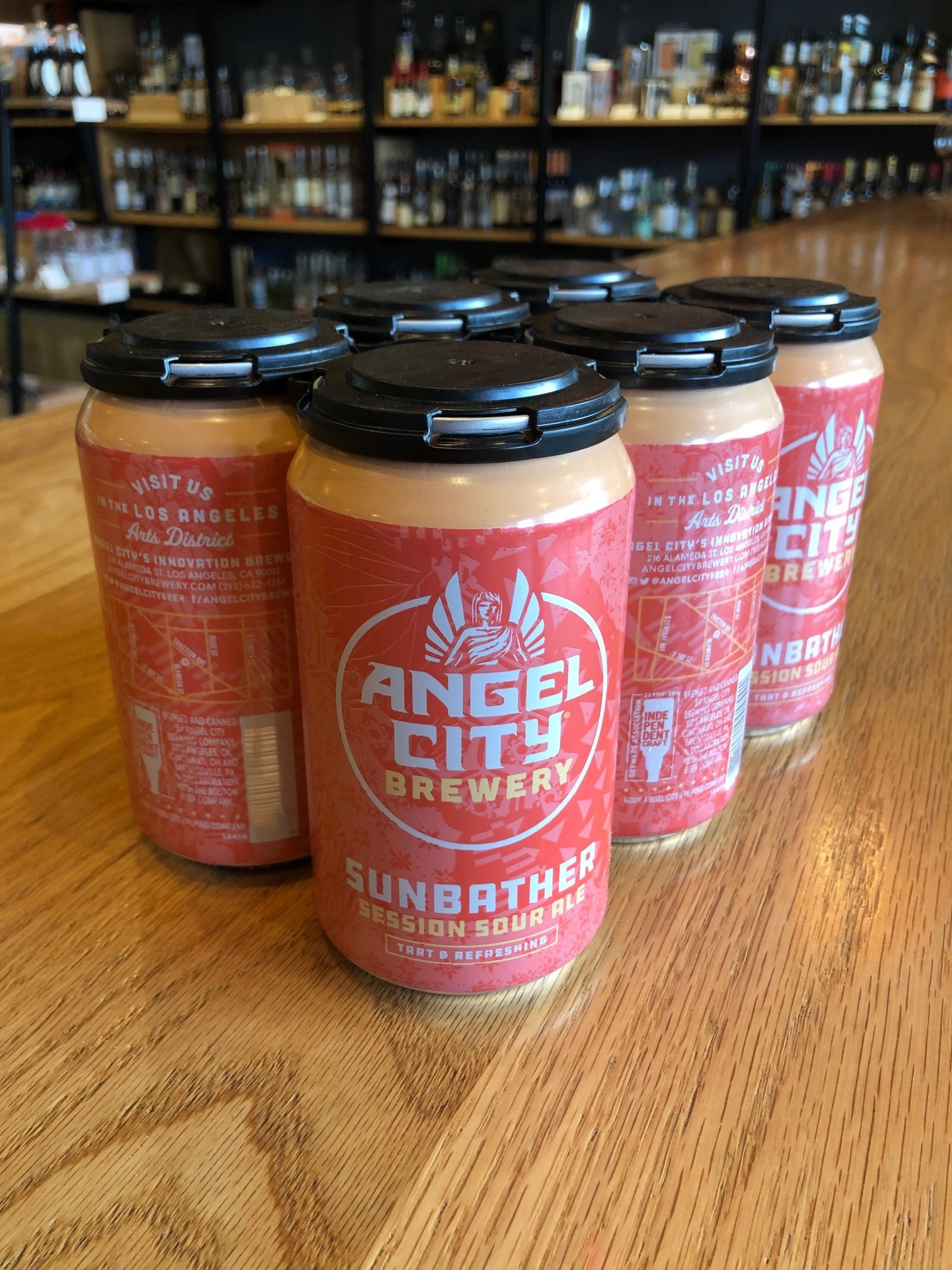 Angel City Brewing Angel City Brewing Sunbather Sour Blonde 12oz 6pk