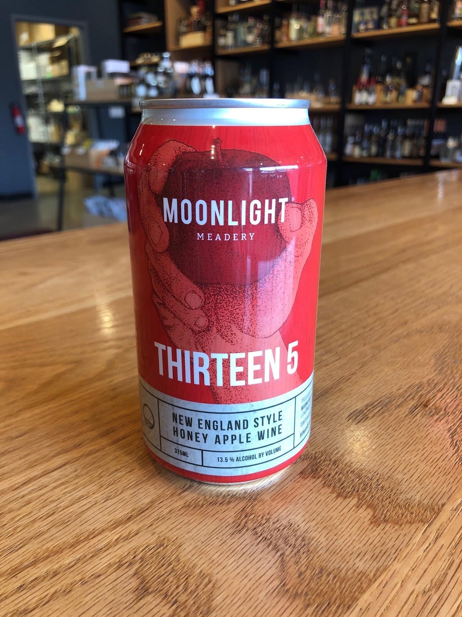 Moonlight Meadery Moonlight Meadery Thirteen 5 Cider 12oz