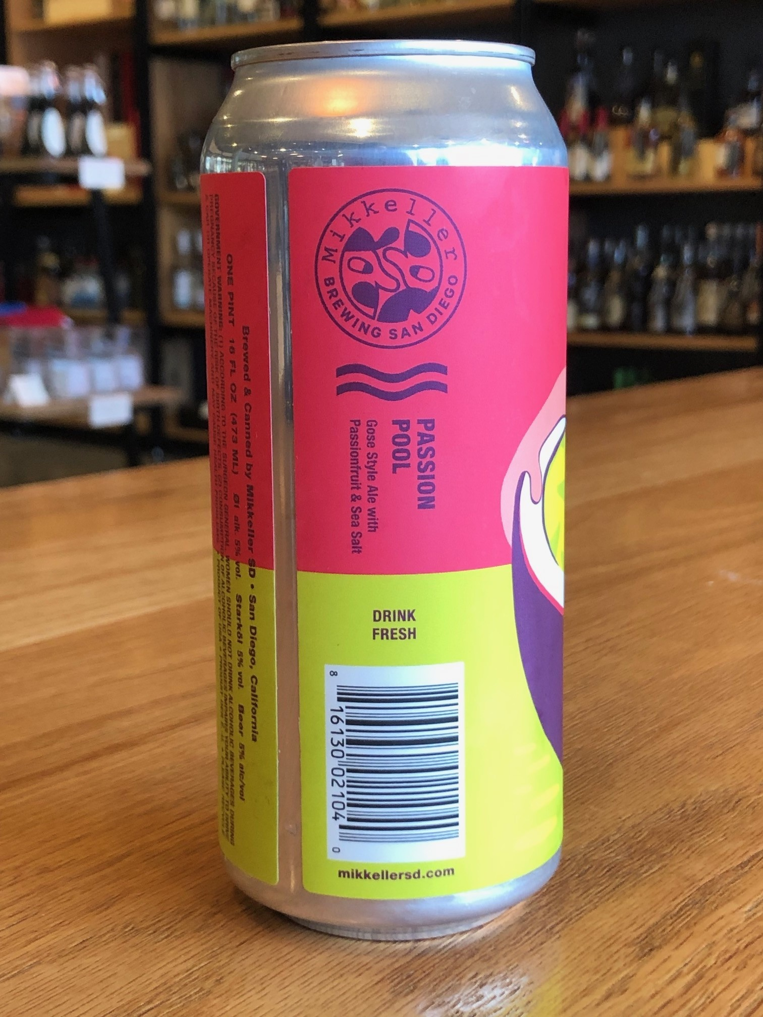 Mikkeller Brewing Mikkeller SD Passion Pool Gose 16oz