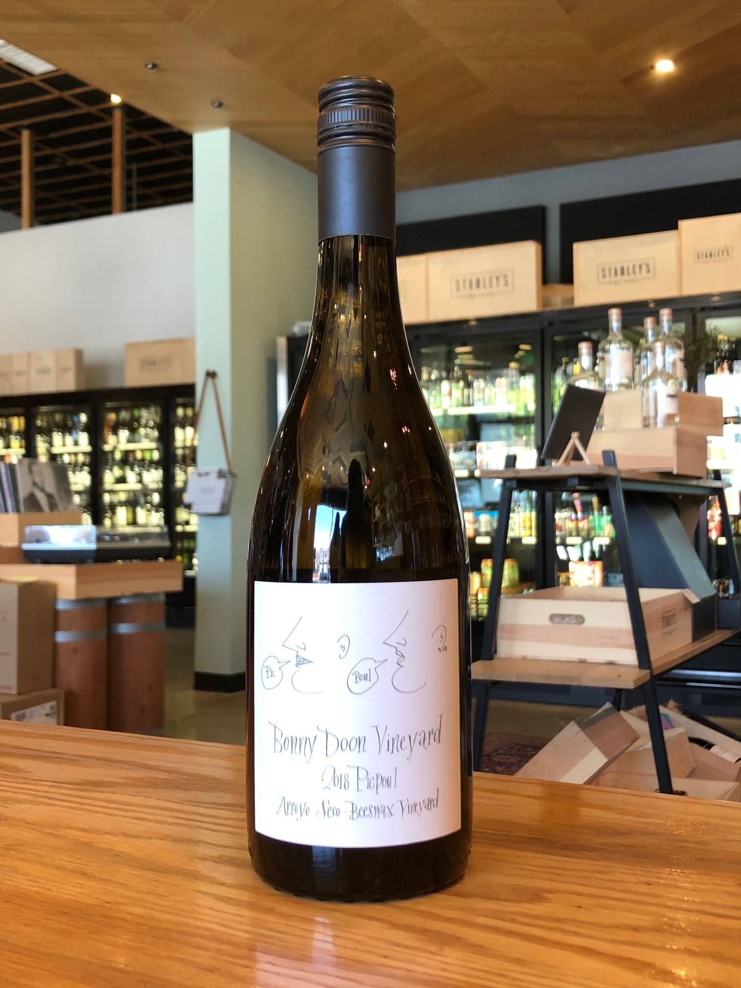 Bonny Doon Vineyard 2018 Bonny Doon Picpoul, Arroyo Seco Beeswax Vineyard 750ml