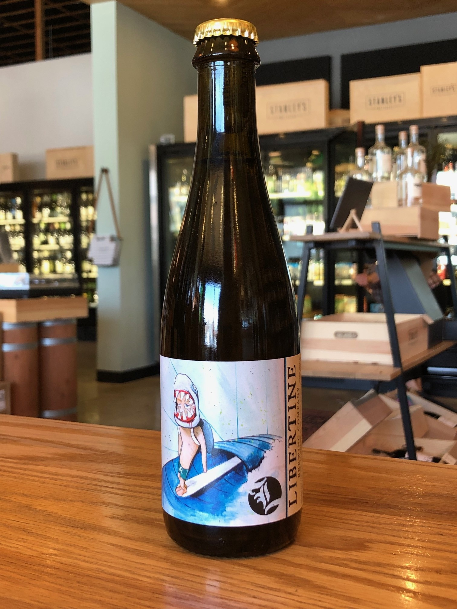 Libertine Libertine Brewing Co. Pacific Ocean Blue Gose 375mL