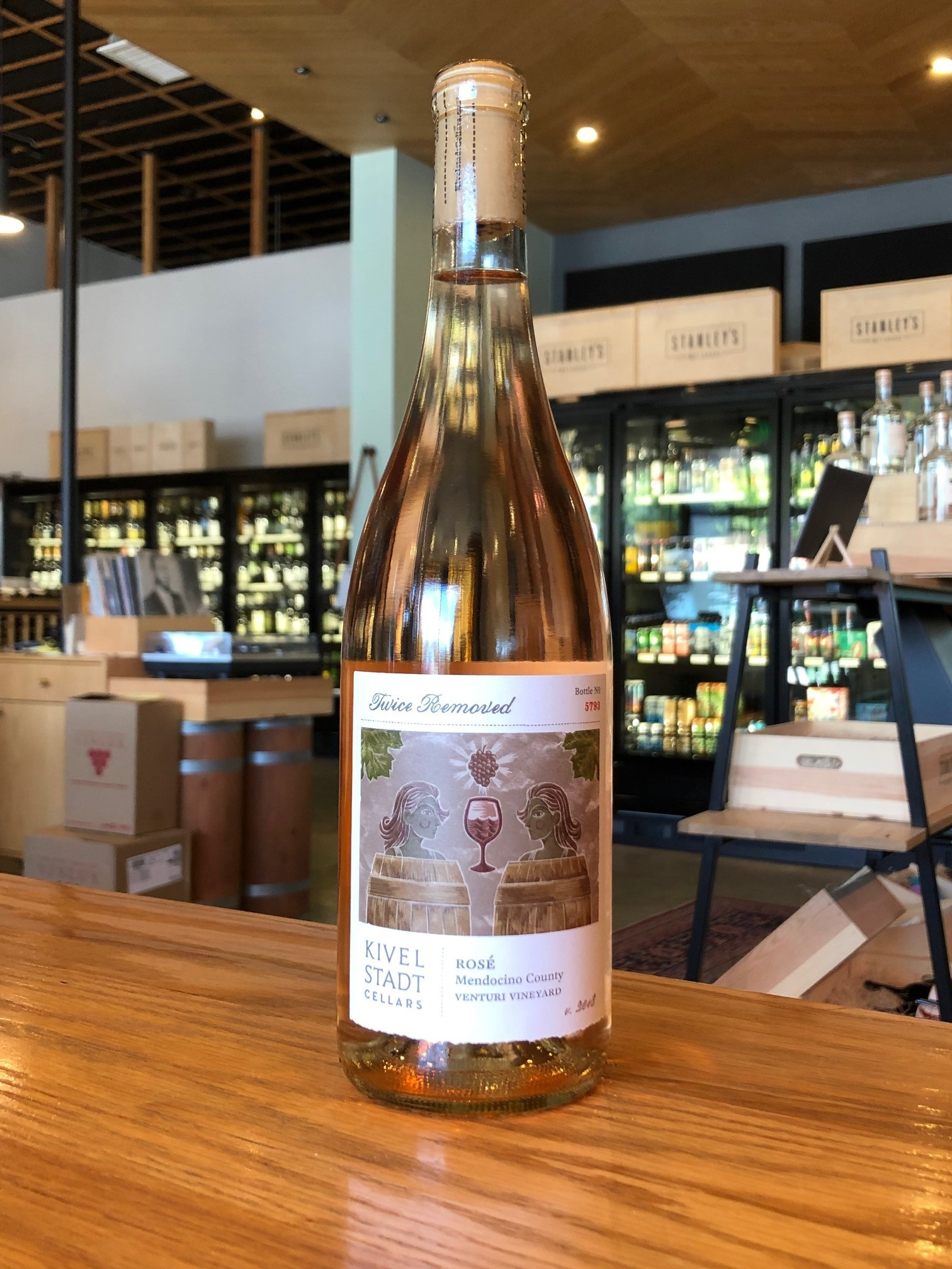Kivelkstadt Winery 2018 Kivelstadt 'Twice Removed' Rosé 750ml