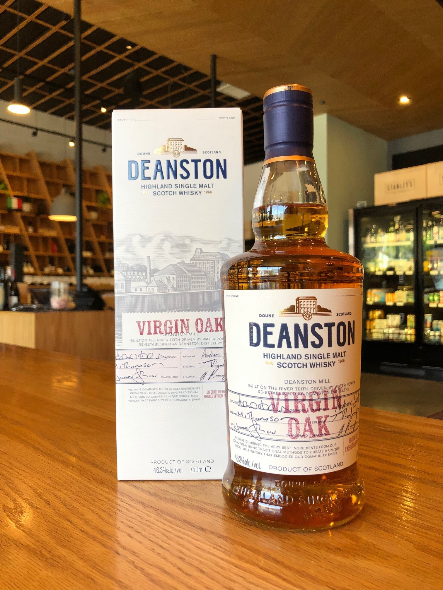 Deanston Deanston Virgin Oak Single Malt 750mL