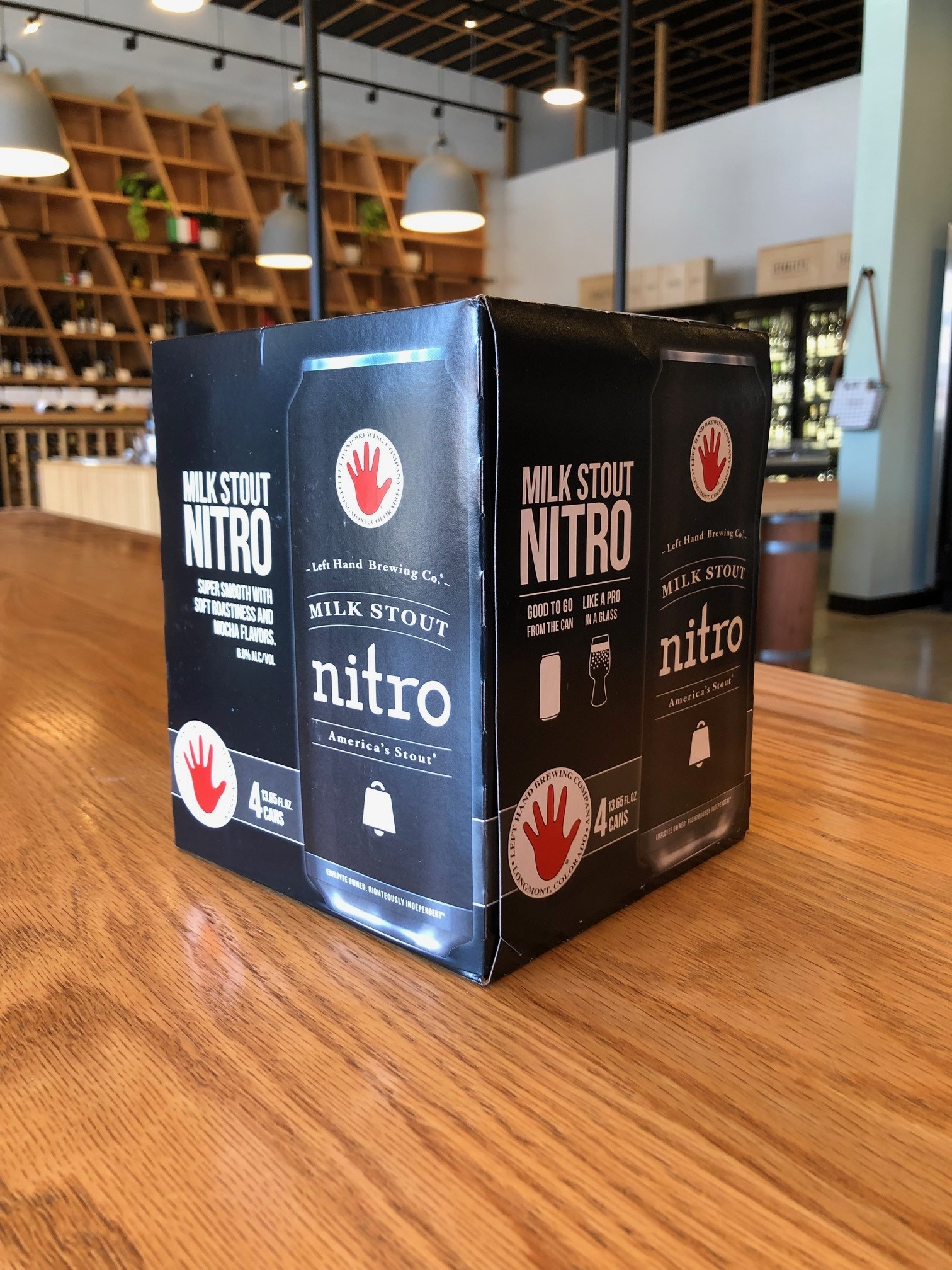 Left Hand Brewing Copy of Left Hand Brewing Nitro Milk Stout 6 pack 12oz