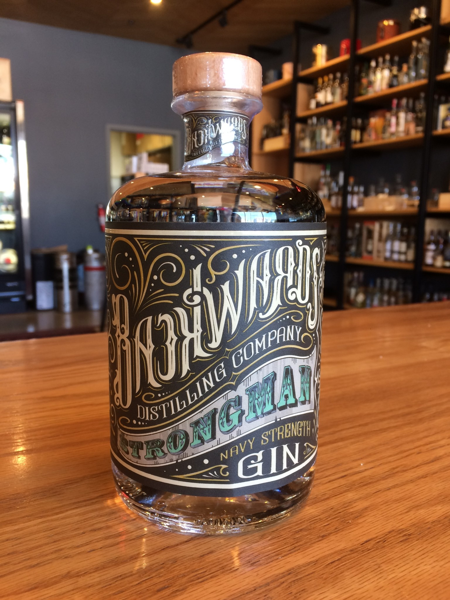 Backwards Distilling CO. Backwards Distilling Co. Strongman Gin 750ml