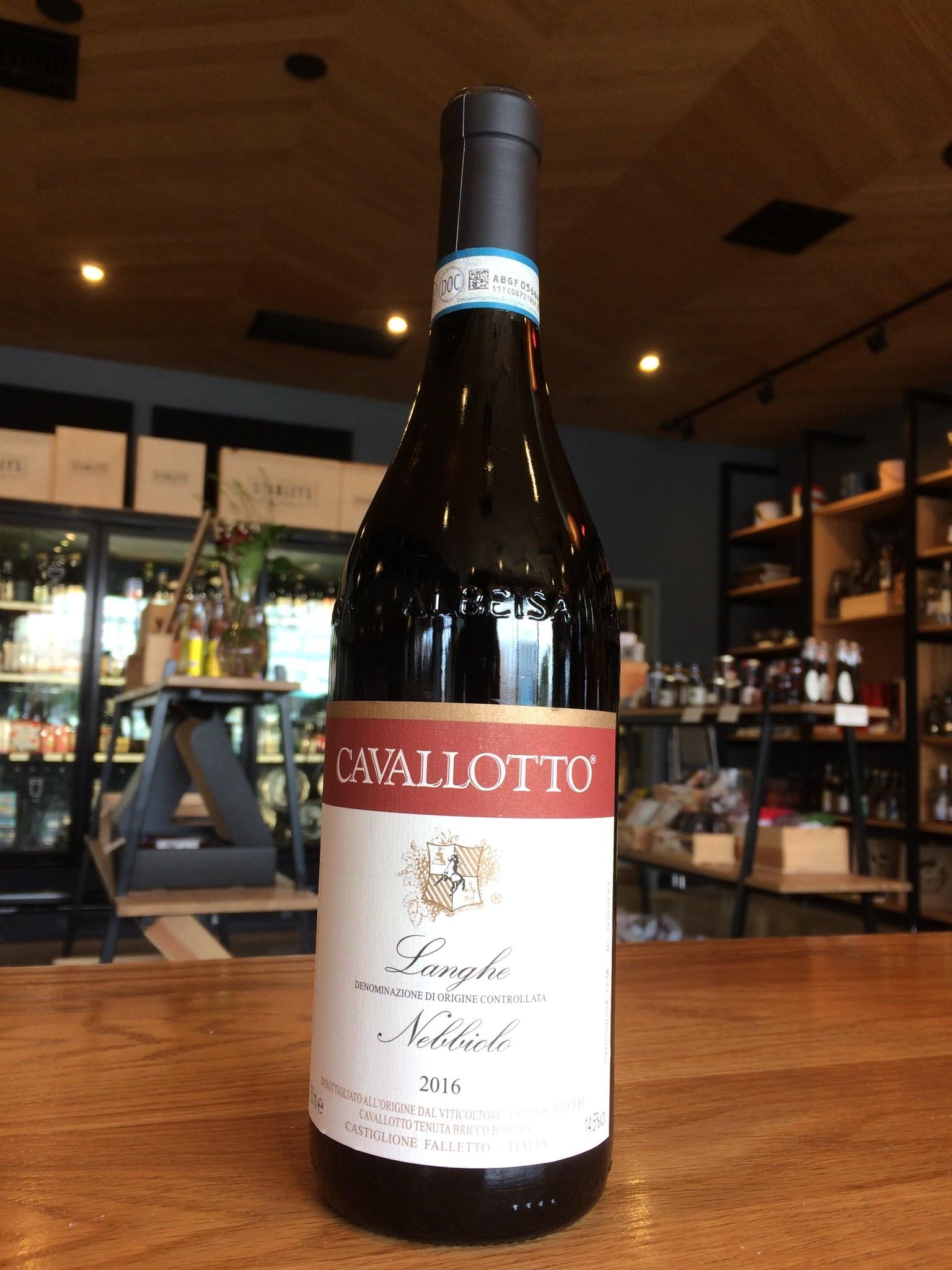 Cavallotto 2016 Cavallotto Langhe Nebbiolo 750ml