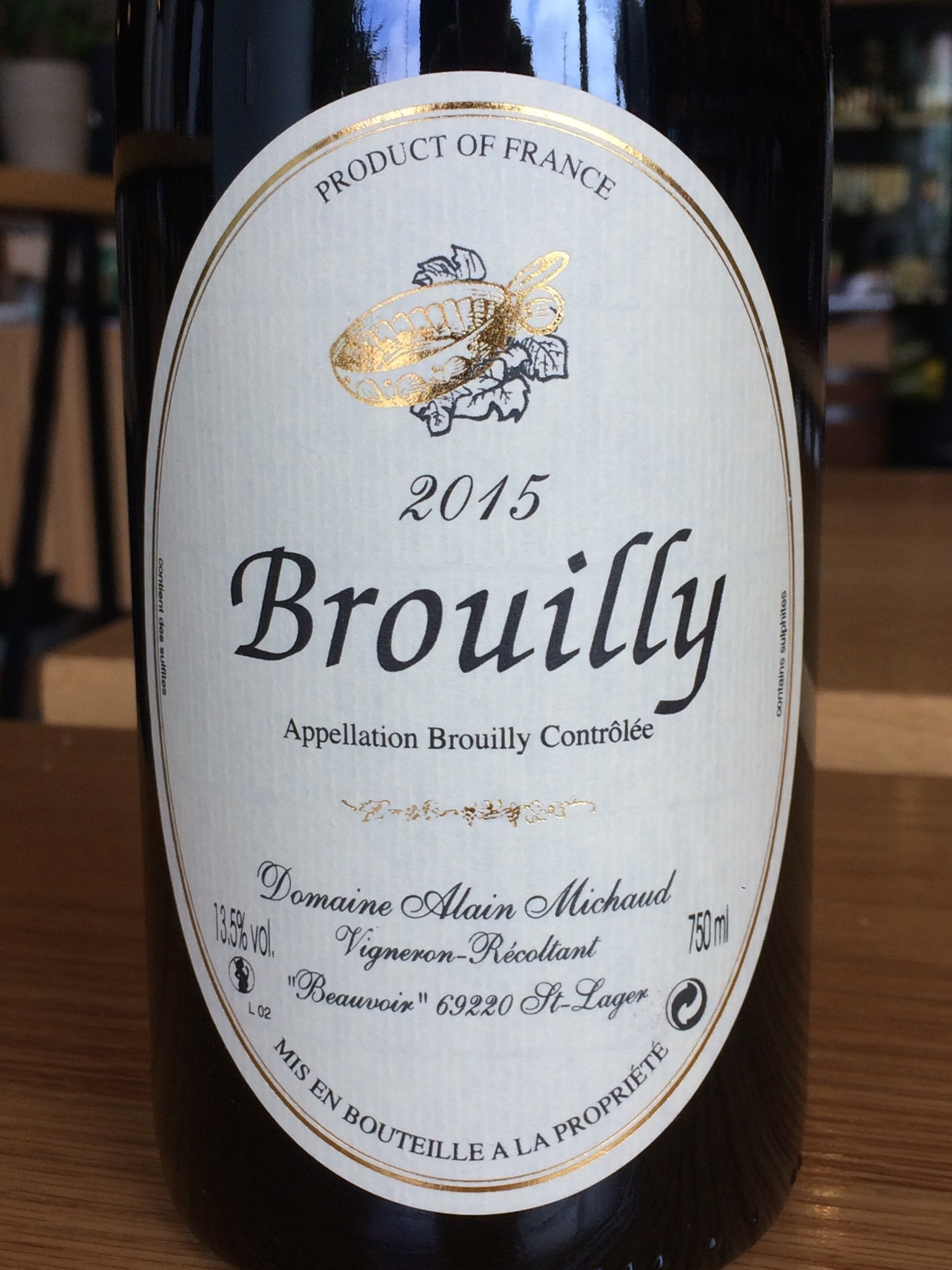 Domaine Alain Michaud 2015 Michaud Brouilly 750ml