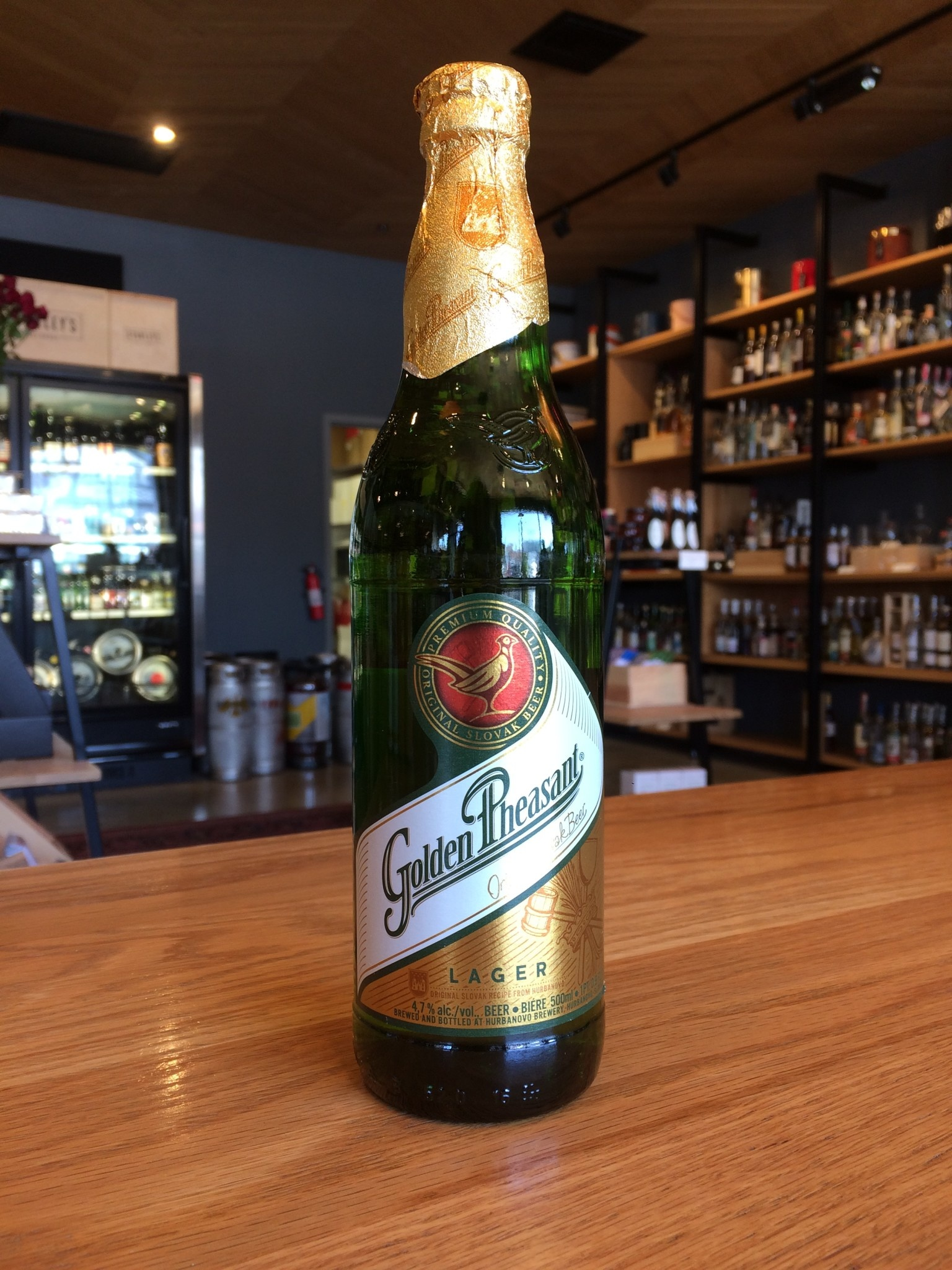 Hurbanovo Brewery Hurbanovo Brewery Golden Pheasant Lager 500mL