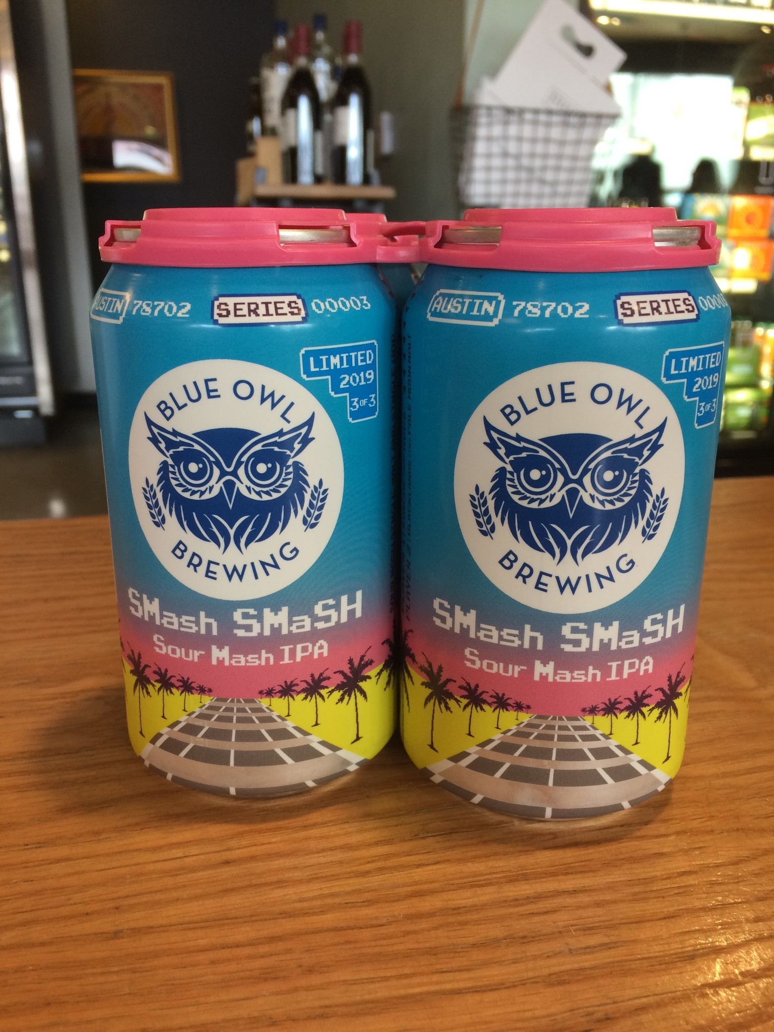 Blue Owl Brewing Blue Owl Brewing: Smash Smash IPA 12oz 4pk