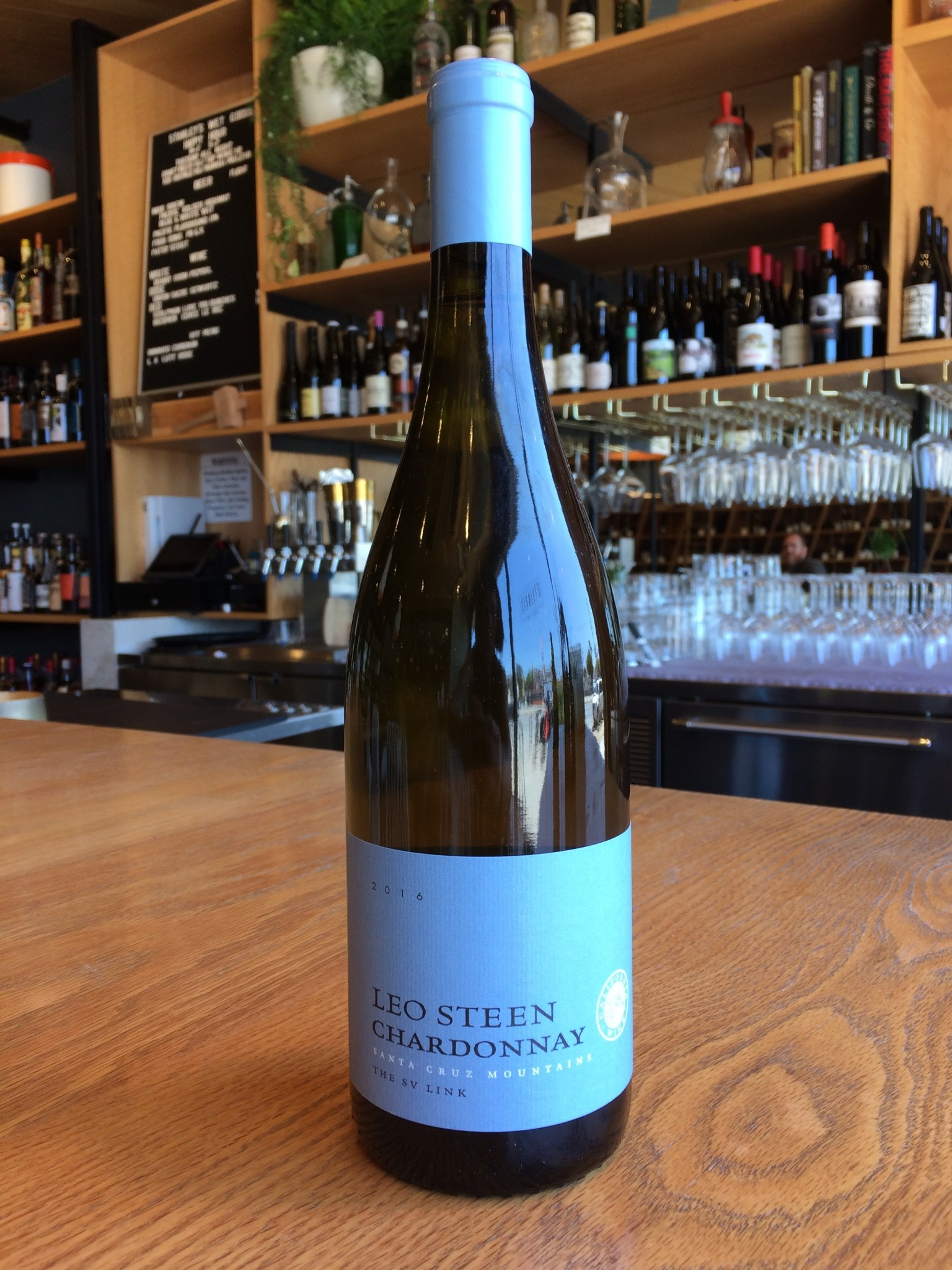 Leo Steen 2016 Leo Steen Chardonnay Santa Cruz Mountains 750ml