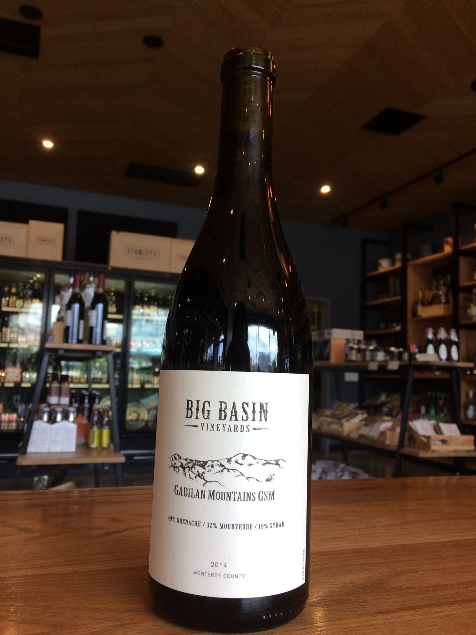 Big Basin Vineyards 2014 Big Basin Vineyards Gabilan Mountain GSM 750ml
