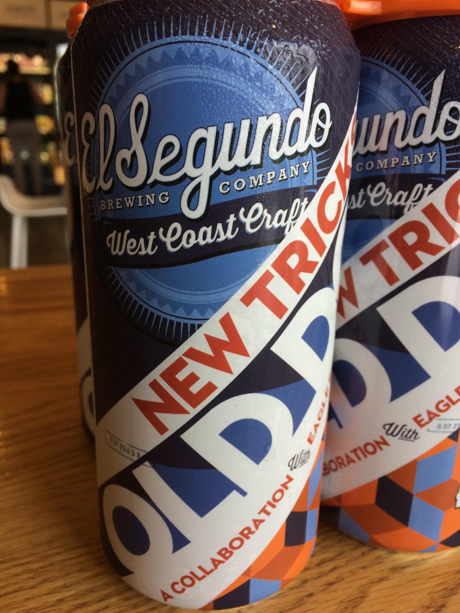 El Segundo Brewing Company El Segundo Brewing Co./Eagle Rock Brewing New Tricks, Old Dog IPA 16oz 4pk